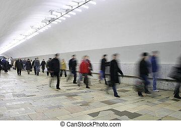 korridor, crowd