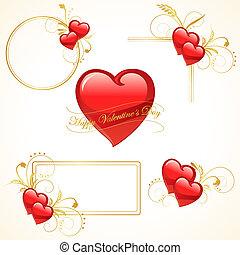 kort, valentinbrev