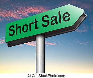 kort, verkoop