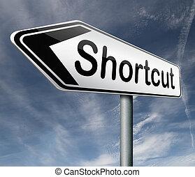 kortere weg