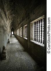 korytarz, z, angkor