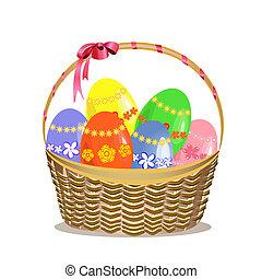 kosár, húsvét