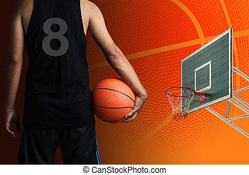 kosárlabda játékos