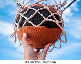 kosárlabda labda
