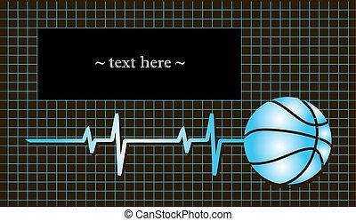 kosárlabda, noha, a, érverés