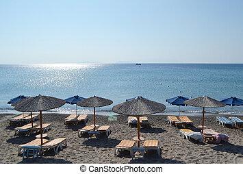 kos., 島, 浜, ギリシャ語