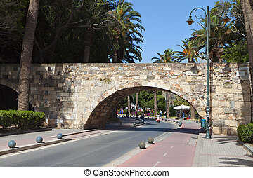 Kos island in Greece - City of Kos island in Greece and the...