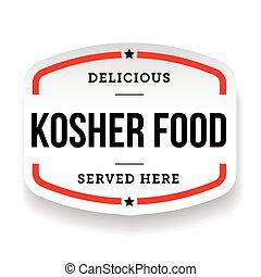 kosher, cibo, vendemmia, etichetta