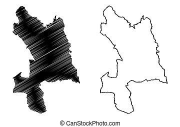 Kosice City map