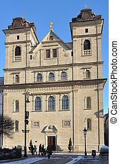 Kosice - University Church of the Holy Trinity (slovak:...