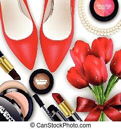 kosmetikartikel, hintergrund