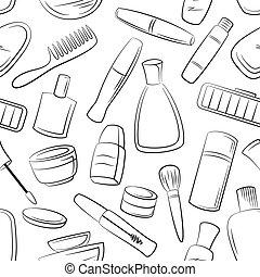 kosmetikker, seamless