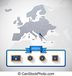 Kosovo info card