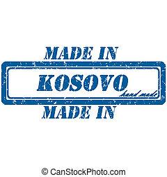 kosovo stamp