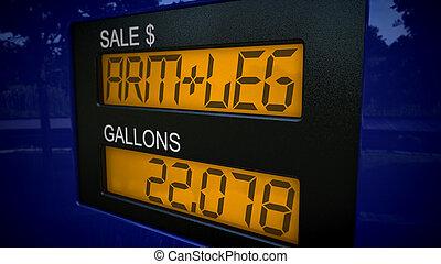 kostar, gas, arm, ben