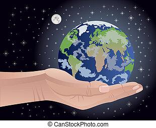 kostbaar, ons, aarde