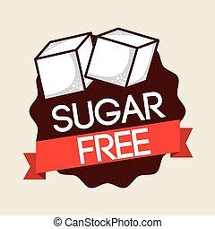 kosteloos, suiker