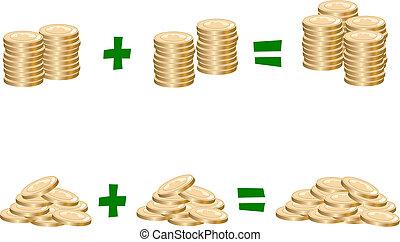 kosten, finanz, berechnend