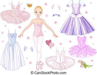 kostiumy, balerina