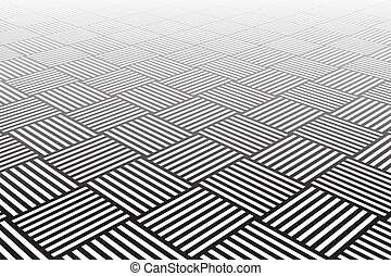 kostkovaný, surface., textured
