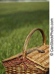 koszałka pikniku, kosz