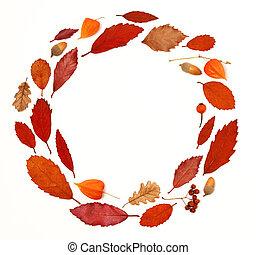 koszorú, ősz