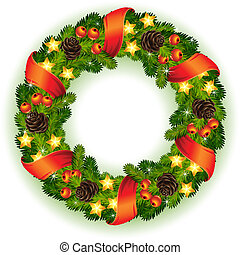 koszorú, karácsony