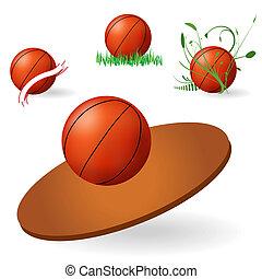 koszykówka, emblemat