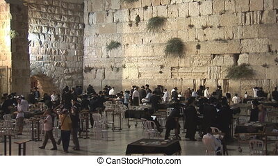 Kotel at night 2 - Kotel at night after shabat
