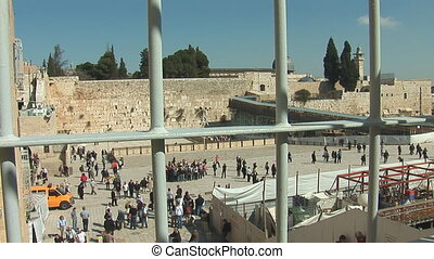 kotel grating - The Wailing Wall for the grating