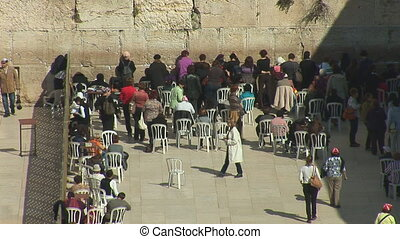 kotel womans - The Wailing Wall, the female sector