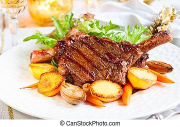 kotelet, kalfsvlees