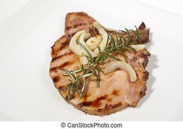 Kotelett gebraten - Schweinefleisch,Kotelett,Fleisch