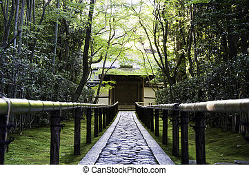 koto-in, a, sub-temple, の, 大徳寺, -, 京都, 日本