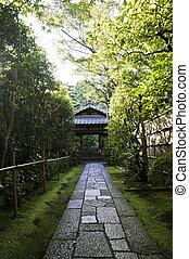 koto-in, um, sub-temple, de, daitoku-ji, -, kyoto, japão