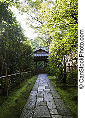 koto-in, uno, sub-temple, di, daitoku-ji, -, kyoto, giappone