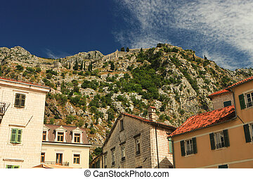 Kotor Fortress Wall