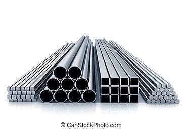 kov, součástky