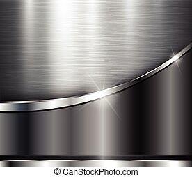 kovový, grafické pozadí