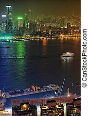 kowloon, 夜