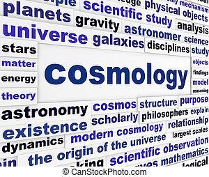kozmológia, tudományos, üzenet