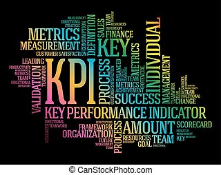 kpi, indicateur, -, clã©, performance