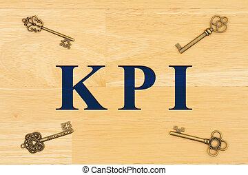 KPI type with skeleton keys