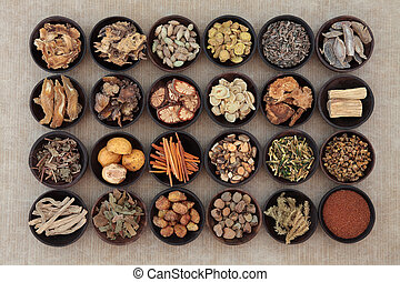 kräutermedizin, chinesisches