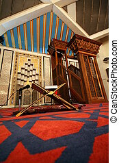 król, abdullah, meczet, amman