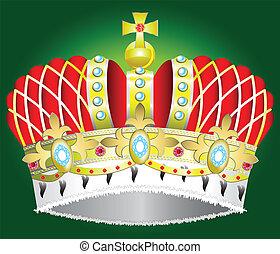 królewska korona, średniowieczny