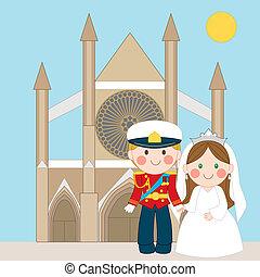 królewski, ślub