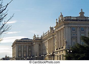 królewski, madryt, pałac