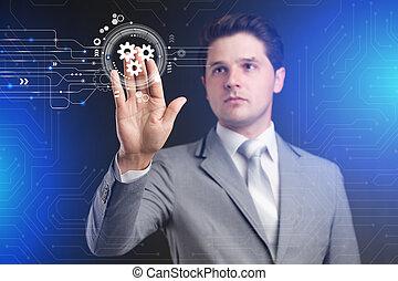 krýt, pojem, povolání, technology., mechanismus, automatizace, software