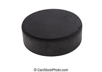krążek, hokej